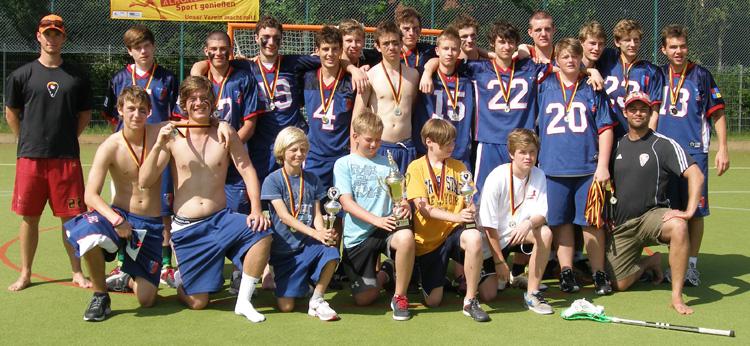 Deutscher Lacrosse Vize-Meister Junioren U19 2012