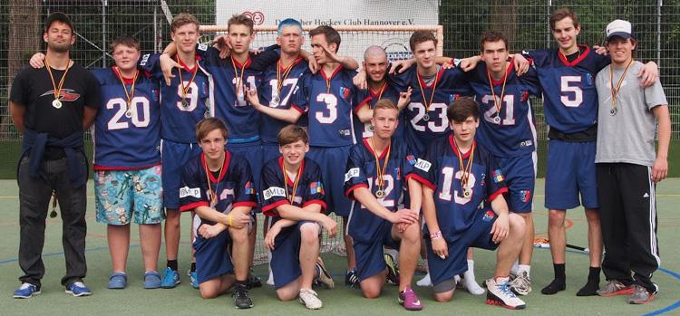 Deutscher Lacrosse Vize-Meister Junioren U19 2013