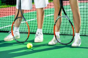 Tennis Doppel-Mixed-Turnier