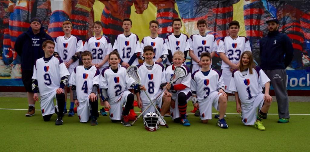 Lacrosse Jugendmannschaft 2016 BHC