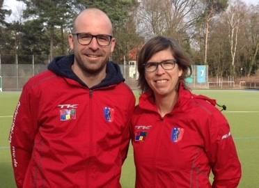 Olympiasieger Natascha und Florian Keller sind neue Trainer der BHC-Damen