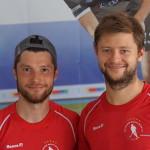 Martin Zwicker und Martin Häner vertreten die BHC-Farben bei Olympia