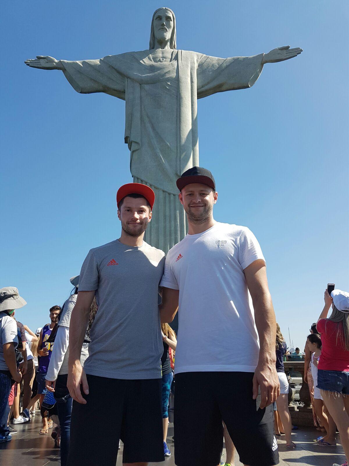 Martin und Martin gut gelandet in Rio! Viel Erfolg!