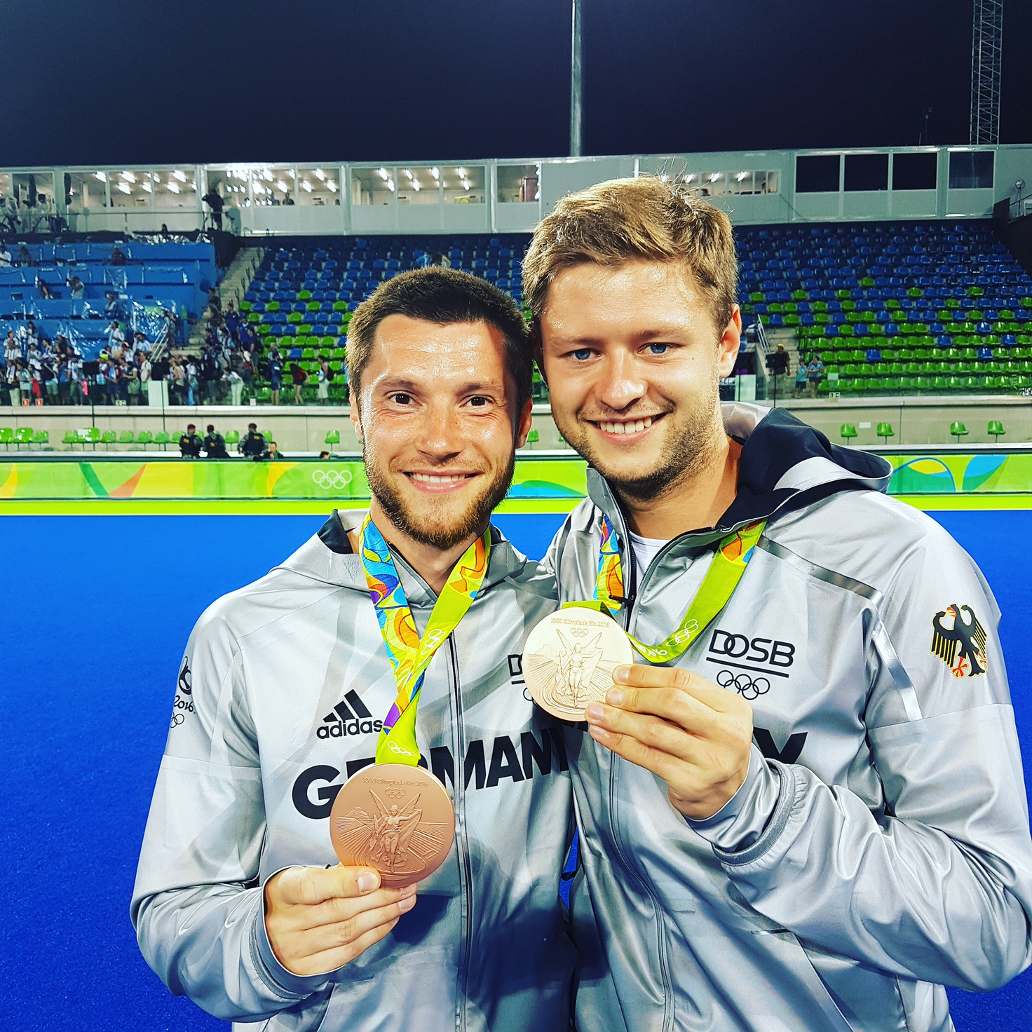 Herzlichen Glückwunsch zur Bronzemedaille!