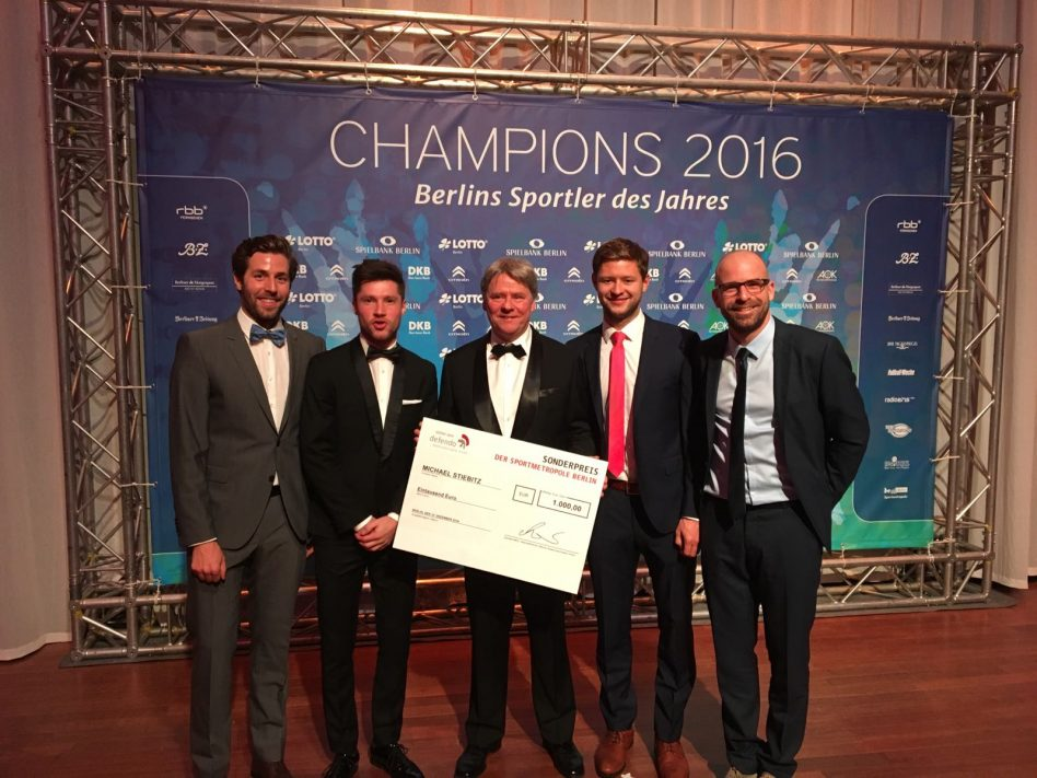 Michael Stiebitz erhält Sonderpreis der Sportmetropole Berlin