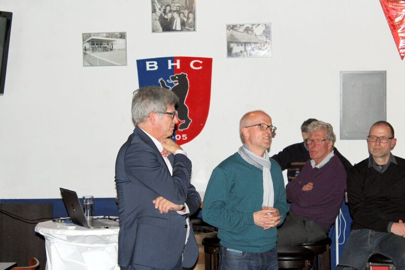 Großes Sponsorentreffen im BHC