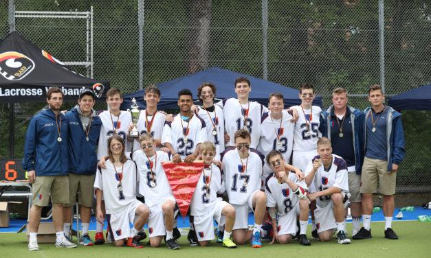 U-16 Junioren gewinnen die Deutsche Meisterschaft im Lacrosse