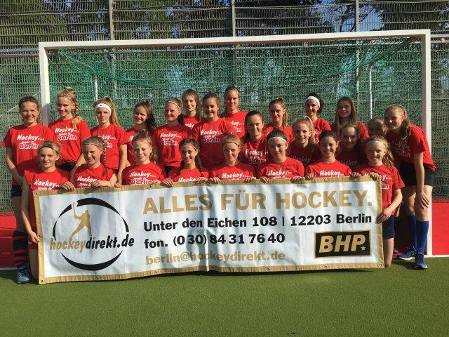 Berliner Mädchen auf dem 4. Platz