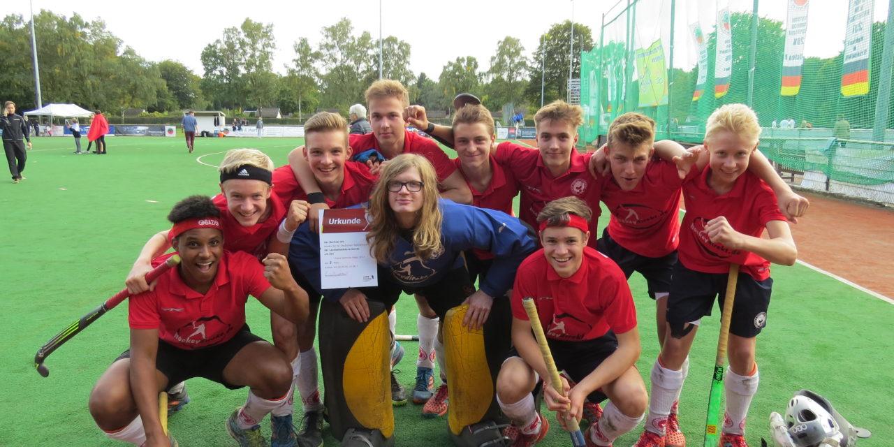 Berliner Jungs erreichen Finale beim Länderpokal