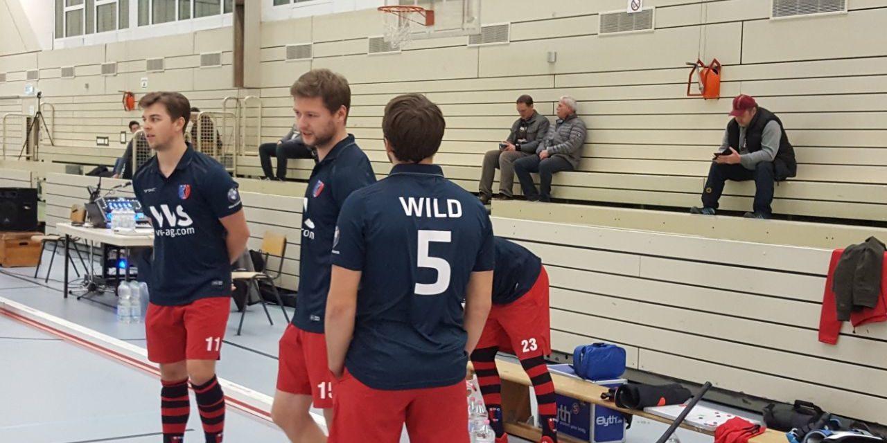 Herren spielen unentschieden gegen Blau-Weiss und TuSLi