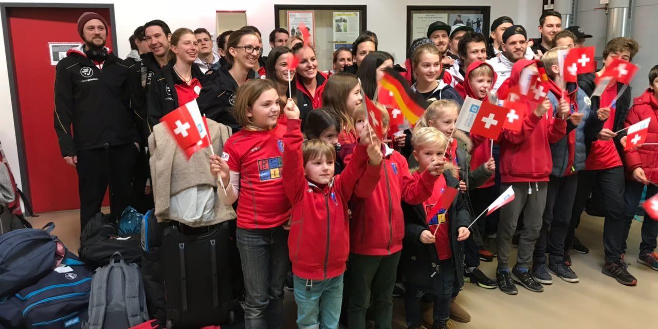 BHC begrüßt die Nationalmannschaften aus der Schweiz und Deutschland