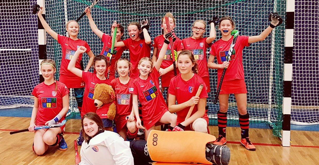 Mädchen B werden Berliner Liga-Meister