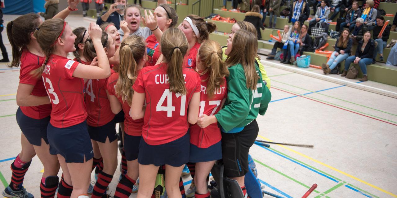 Mädchen A werden auch Deutscher Meister in der Halle
