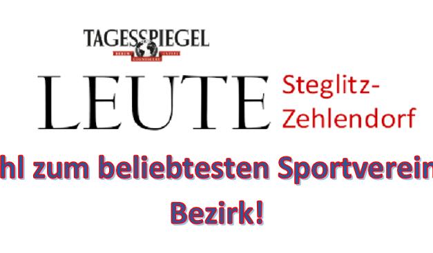Welcher Sportverein ist der beliebteste im Bezirk? – Mitmachen!
