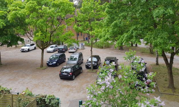 Einschränkungen Parkplatz