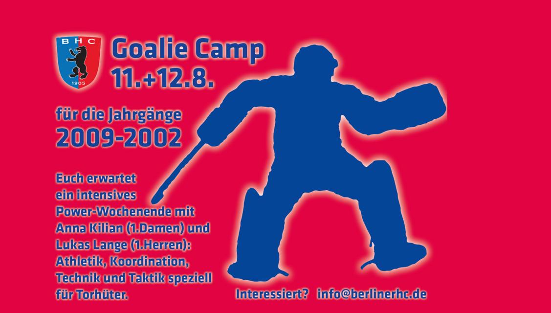 Goalie Camp in den Sommerferien