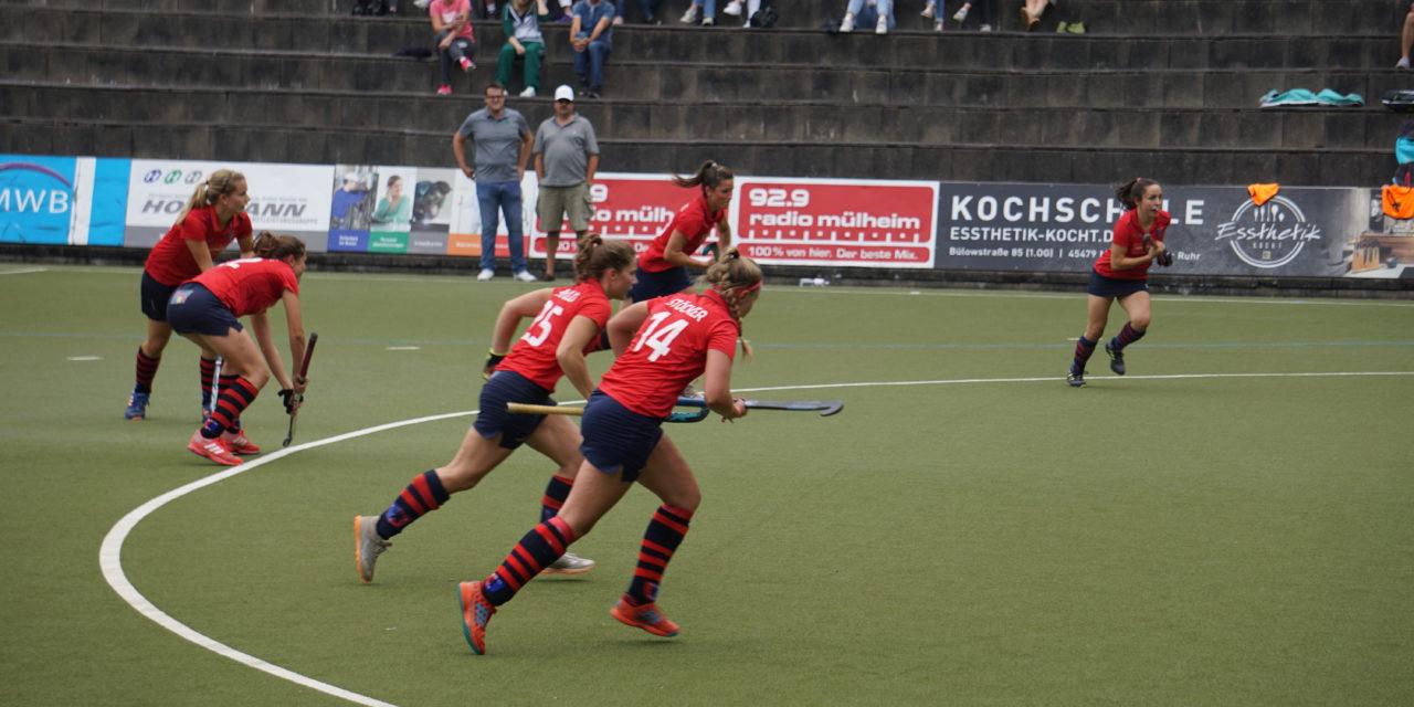 Damen gewinnen drei Trainingsspiele gegen HTHC