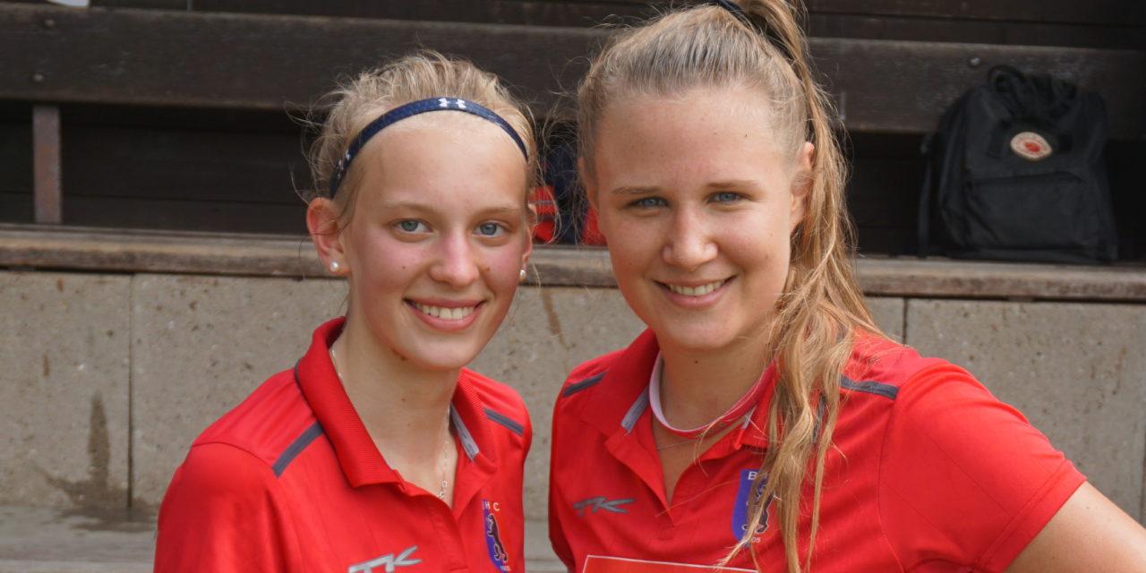 Alessa Volkert und Maja Stöcker beim DFJW der U18 dabei