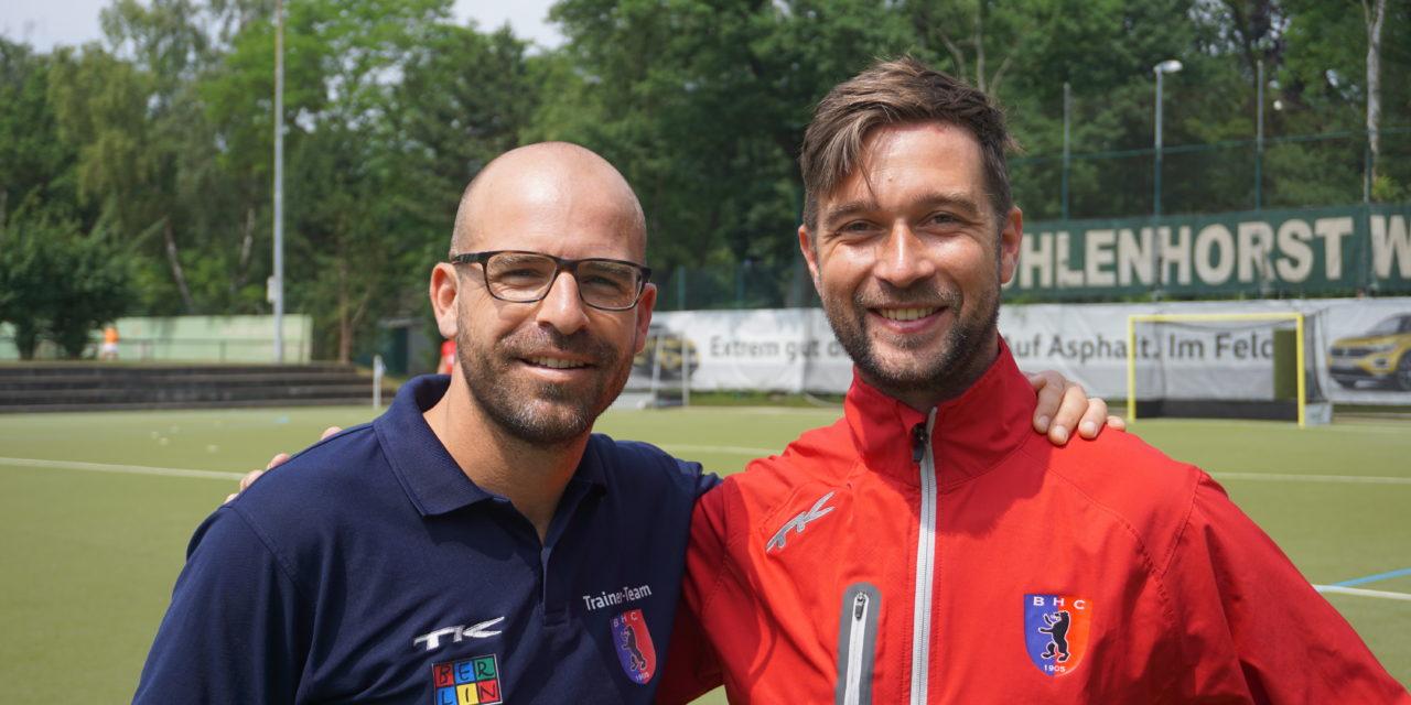 Vorzeitige Vertragsverlängerung mit Keller und van Eijk