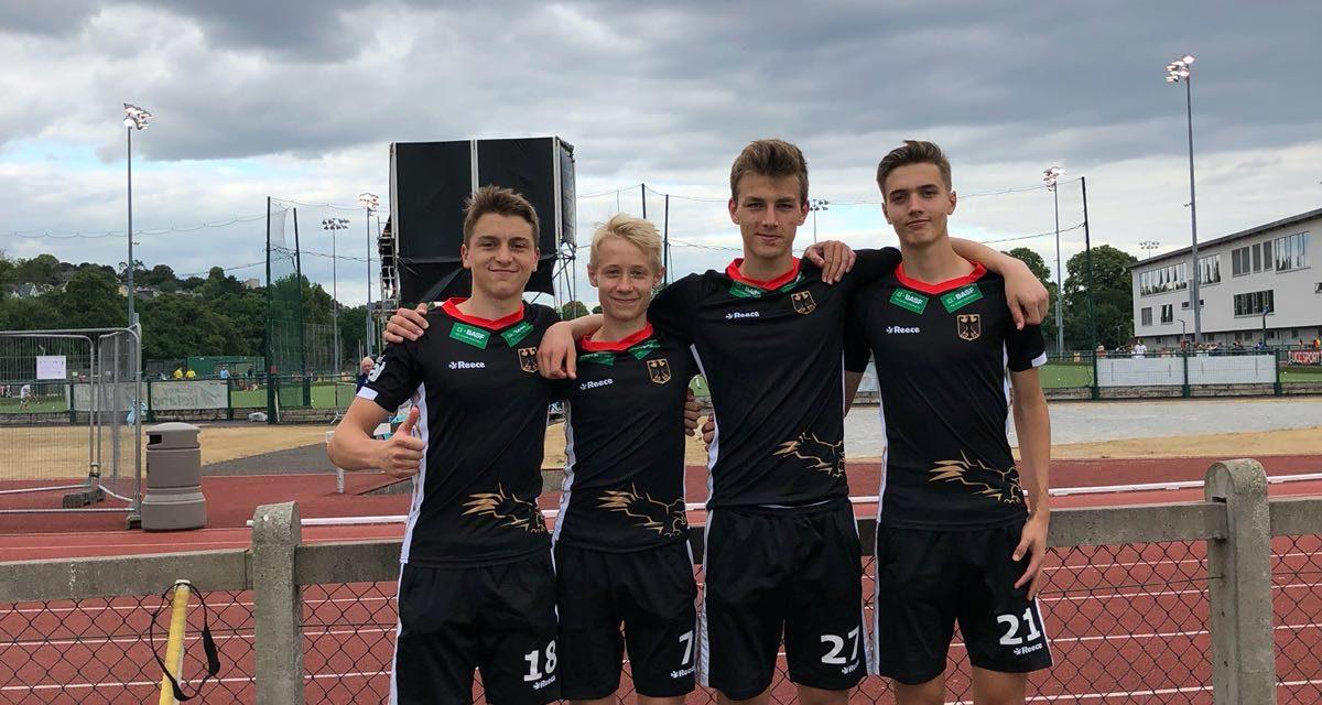 BHC-Quartett wird 3. beim U16-Sommerturnier in Cork