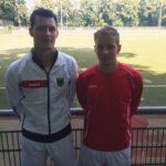 Michi Hummel und Tino Volkert sind mit der U21 erfolgreich