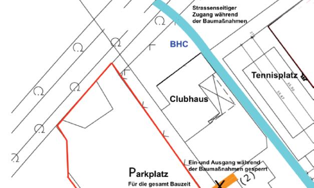 Umbaumaßnahmen Parkplatz