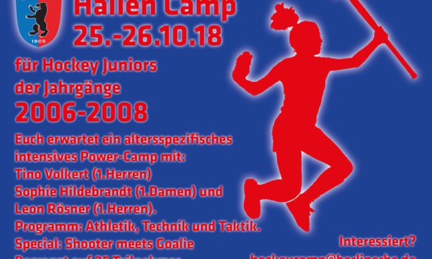 Hallen Camp – Juniors – Jhg. 2006-2008