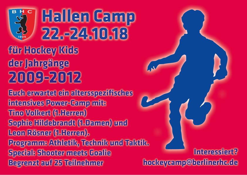 Hallen Camp – Kids – Jhg. 2009-2012