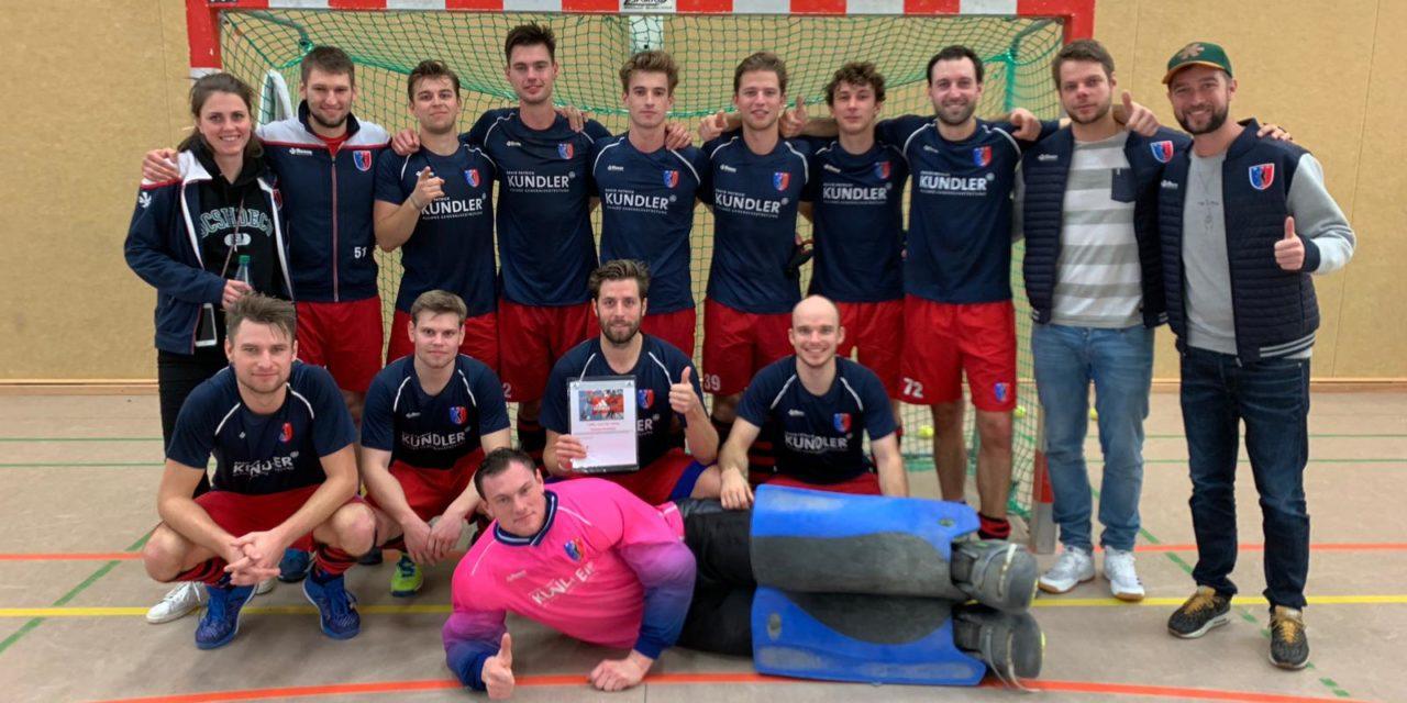 Herren siegen beim Arndt-und-Dirk-Hinrichs-Turnier
