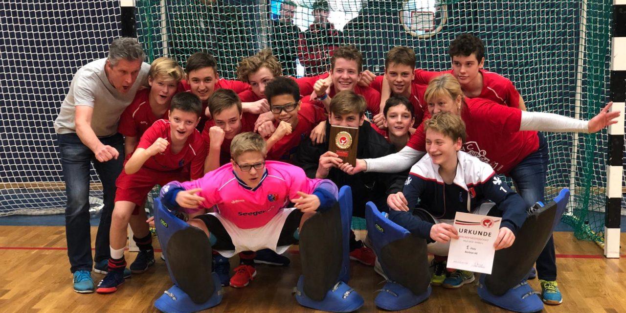 Knaben A sind Berliner Meister in der Halle 2018/19