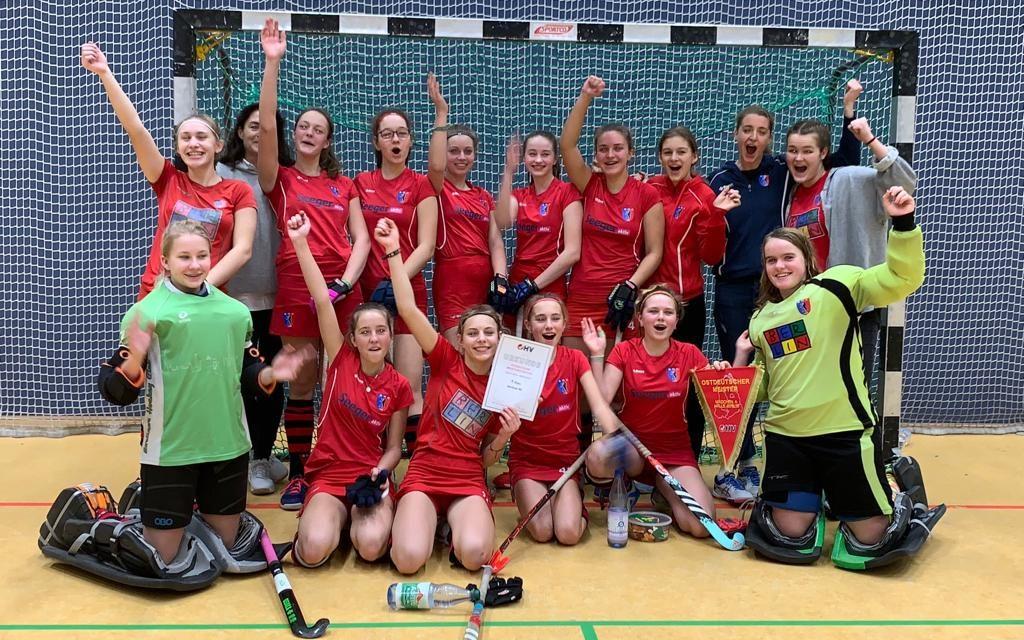 Mädchen A gewinnen die Ostdeutsche Meisterschaft