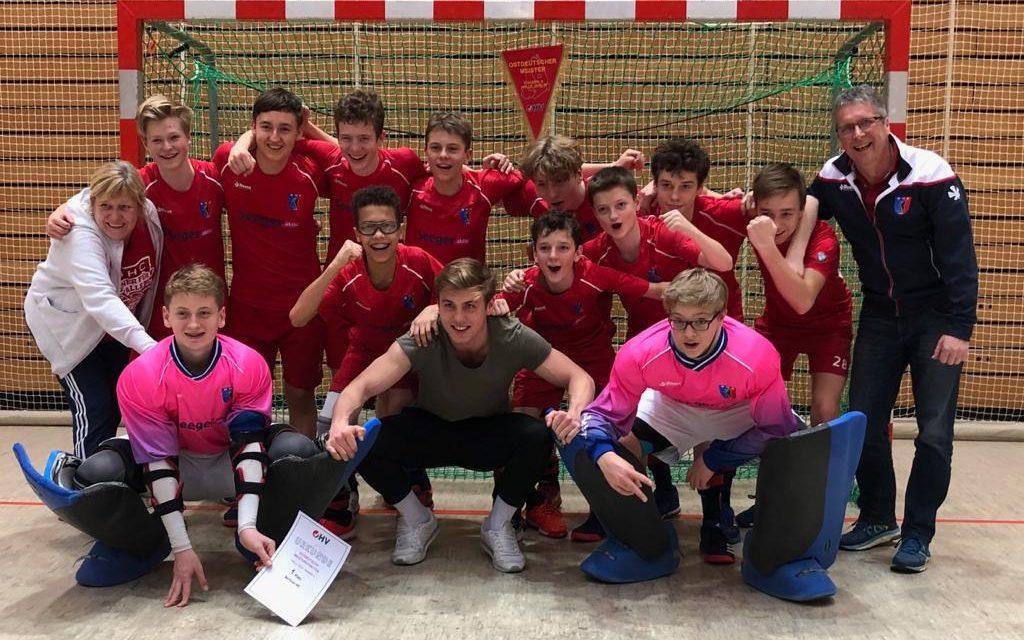 Knaben A holen sich den Titel bei der Ostdeutschen Meisterschaft