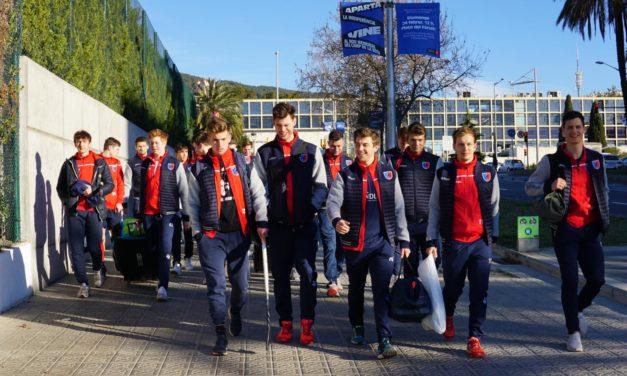 1. Herren absolvieren erfolgreiches Trainingslager in Barcelona