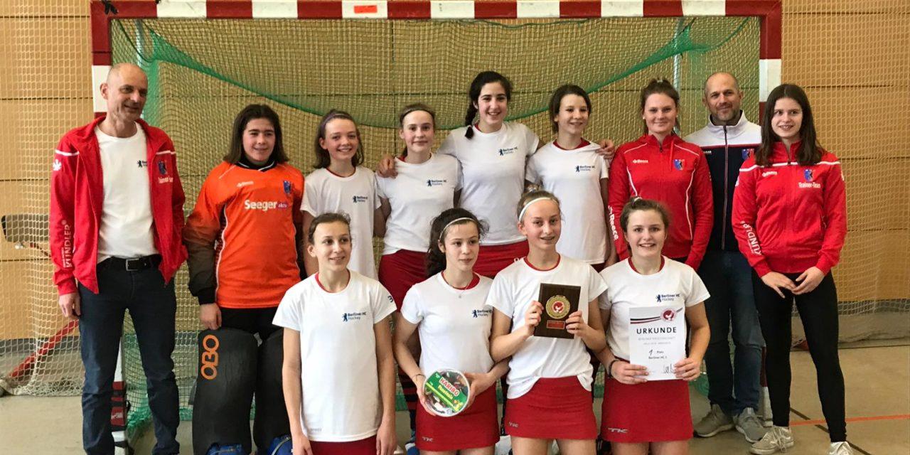 Mädchen B: Platz 1 & 3 bei Berliner Meisterschaft und Liga-Titel
