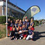 Mädchen B siegen beim Wolkenkratzer-Cup in Frankfurt