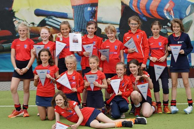 Mädchen B gewinnen Hauptstadtwimpel beim Tante-Inge-Cup