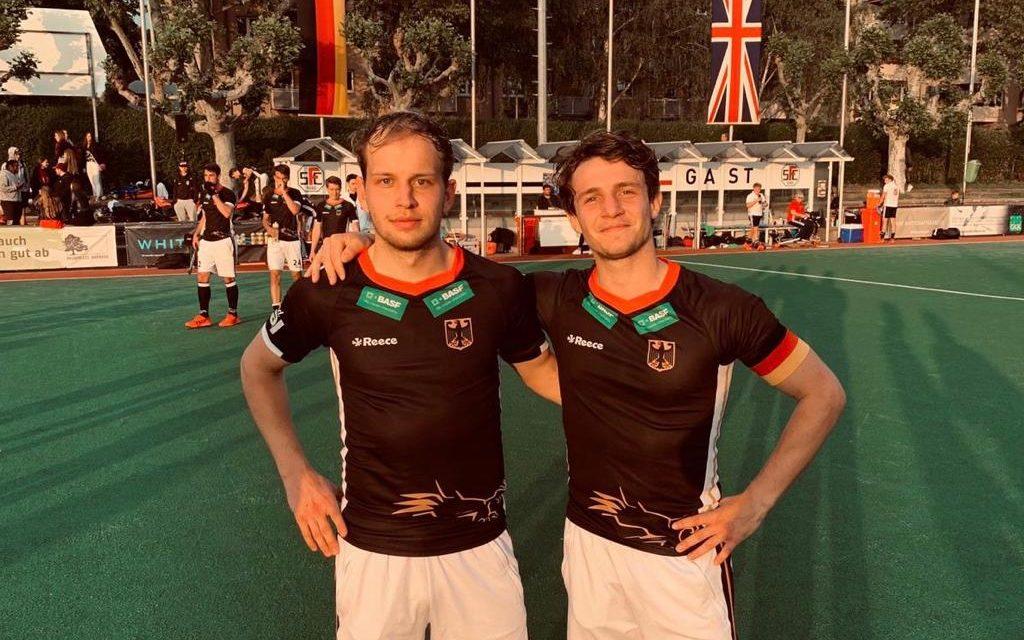 Volkert und Dösch gewinnen drei U21-Länderspiele gegen England