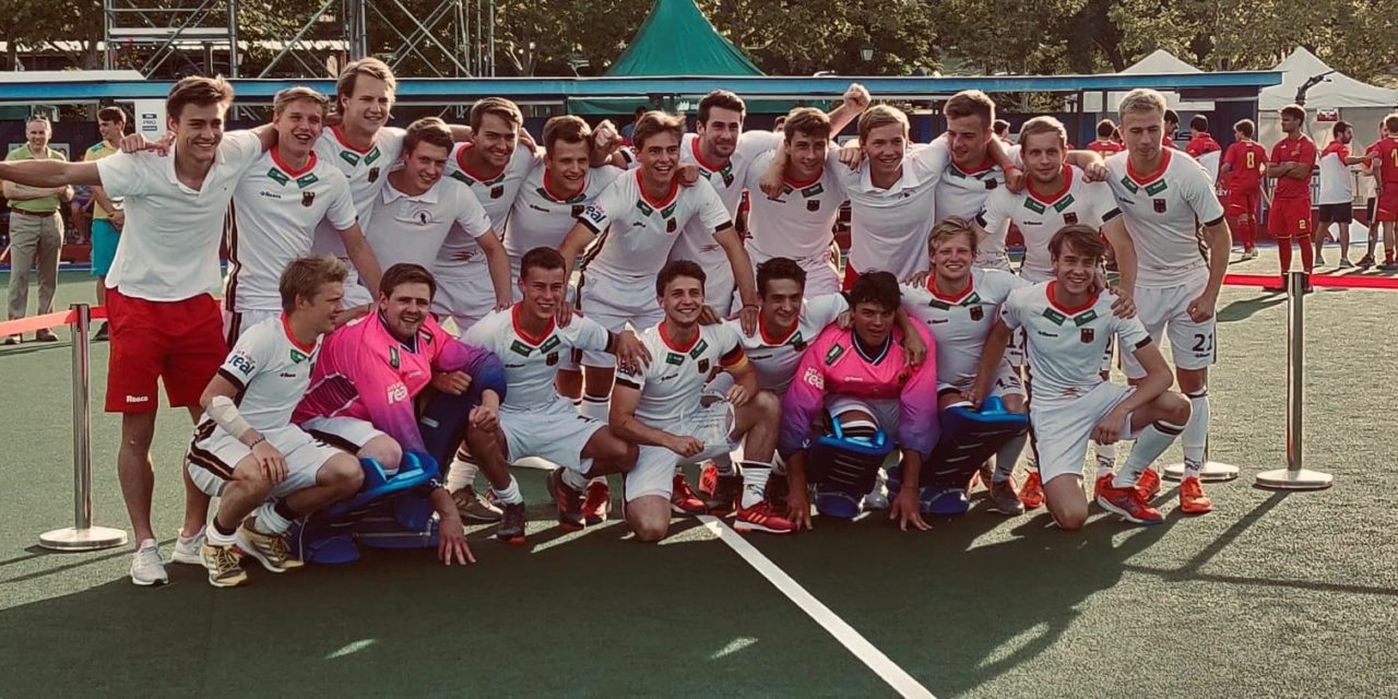 Volkert und Dösch gewinnen mit U21 das 8-Nationen-Turnier in Madrid
