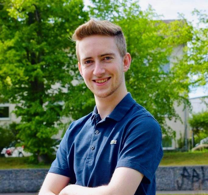 Unser neuer Dual-Student im Bereich Sportmanagement: Chris Scholz
