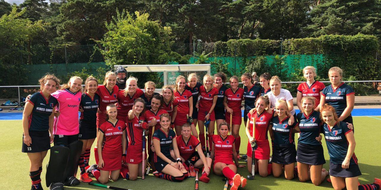 1. Damen sind in die 1. Bundesliga-Vorbereitung gestartet