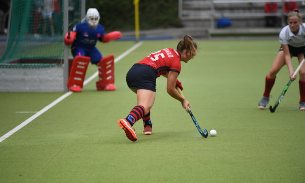Damen spielen 1:1 gegen Düsseldorf, Herren 2:2 beim TSV Mannheim