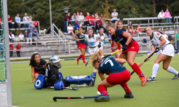 Damen gewinnen 2:1 in Rüsselsheim, Niederlage gegen UHC