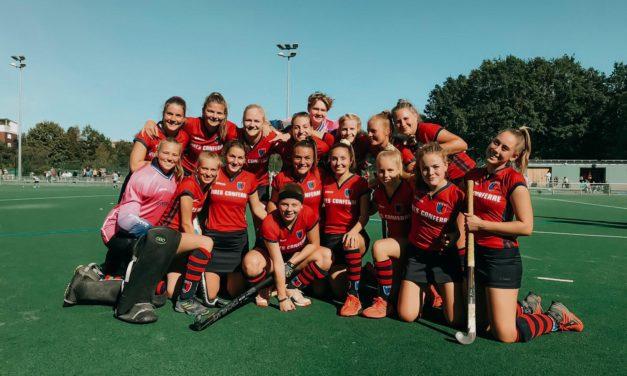 Damen holen ihren ersten Saisonsieg im Derby gegen die Wespen