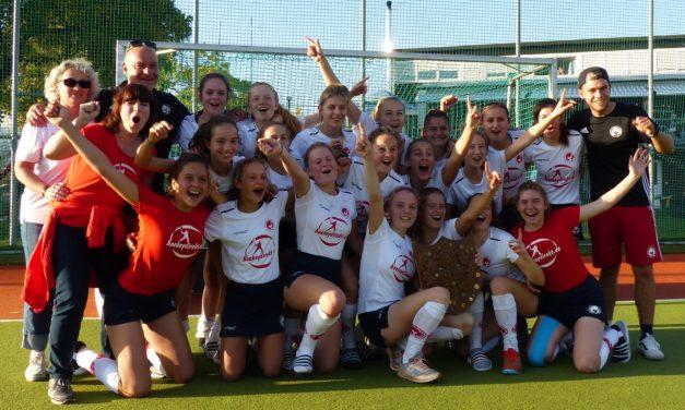 BHV-Mädchen gewinnen den Länderpokal, Jungs werden Vierter