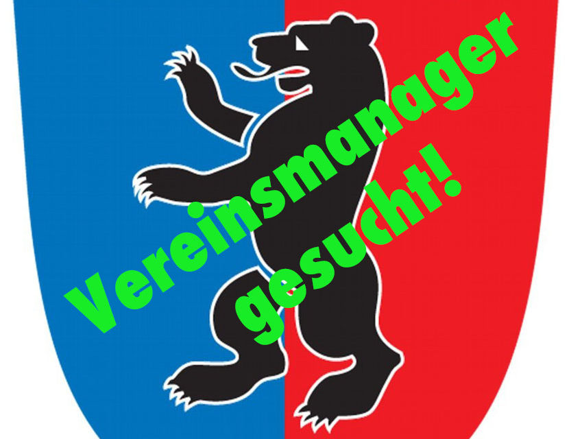 Vereinsmanager (m/w/d) in Vollzeit