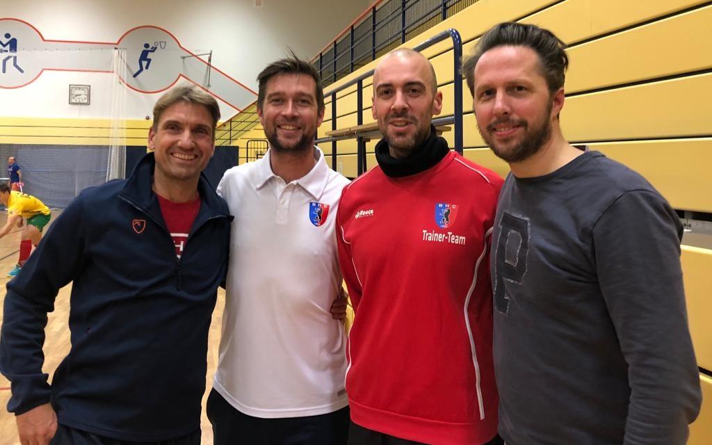 A. Keller, Zippel und Völkner engagieren sich als Co-Trainer
