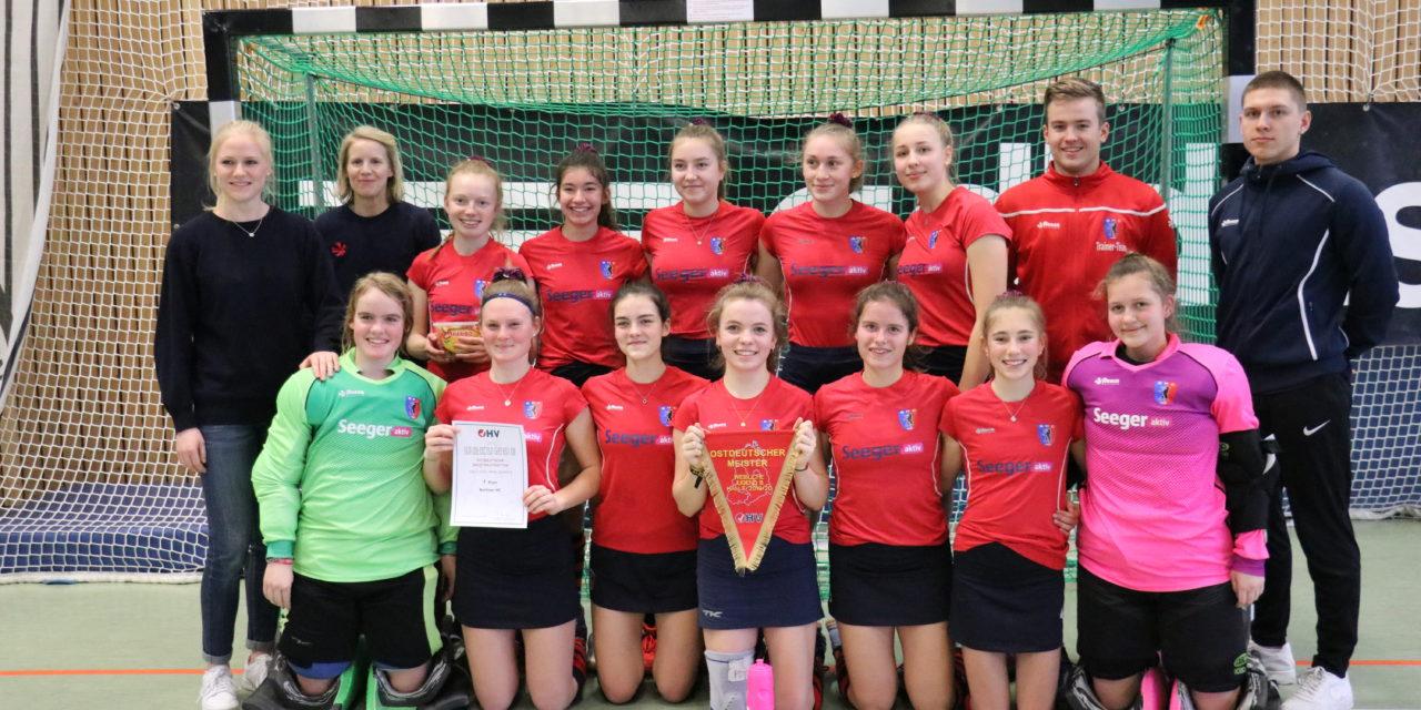 wJB gewinnt Ostdeutsche Meisterschaft, wJA Zweite, MA Dritte