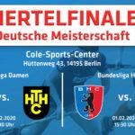 Viertelfinalspiele unserer Bundesligateams