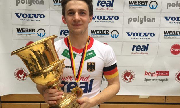 Paul Dösch und Rein van Eijk werden in Berlin Hallen-Europameister
