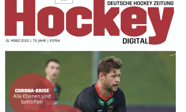 Deutsche Hockey Zeitung: Martin Häner im Interview